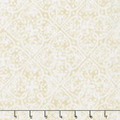 Paradise - Embossed Tonal Cream Yardage