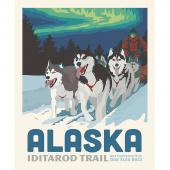 Destinations - Alaska Iditarod Digitally Printed Panel