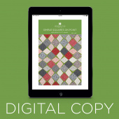 Digital Download - Simple Squares on Point Quilt Pattern by Missouri Star