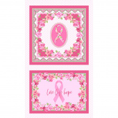 Love Pink - Scarf and Pillow Multi Panel