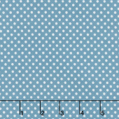 Teddy's Great Adventure! - Teddy's Dots Ocean Blue Yardage