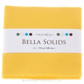 Bella Solids Yellow Charm Pack