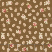 Collection for a Cause - Compassion Roses Chocolate Yardage