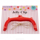 """JELLY CLIP 7"""" RED"""