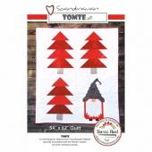 Scandinavian Tomte Christmas Pattern