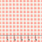 Ready Set Splash - Plaid Coral Yardage
