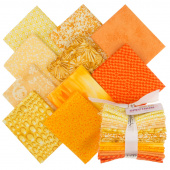 Color Spectrum Favorites Orange Yellow Fat Quarter Bundle