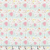 Sweet Baby Girl - Elephants Mint Yardage