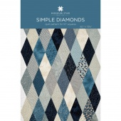 Simple Diamond Quilt Pattern by Missouri Star