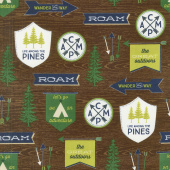 The Great Outdoors - Outdoors Main Brown Yardage