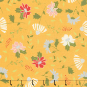 Clover Hollow - Meadow Blooms Sunshine Yardage