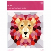 The Lion English Paper Piecing Pattern