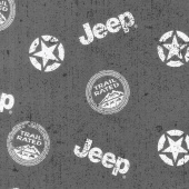 Jeep in the Wild - Jeep Toss Black Yardage