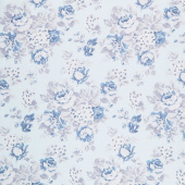 "Tranquility - Floral Dusk 108"" Wide Backing"