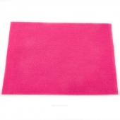 "Rainbow Classic 9"" x 12"" Felt Squares Shocking Pink"