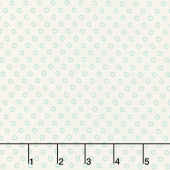 Aunt Grace Backgrounds - Dots Green Yardage