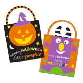 Huggable & Lovable Books - Trick or Treat Bag Panel