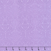 Lilacs in Bloom - Damask Violet Yardage