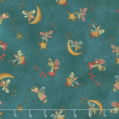 Irish Blessing - Angel Toss Teal Yardage