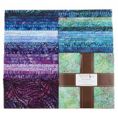Artisan Batiks - Natural Formations 3 Ocean Ten Squares