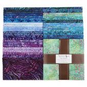 Artisan Batiks - Natural Formations 3 Ocean Ten Squares
