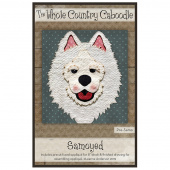 Samoyed Precut Fused Appliqué Pack