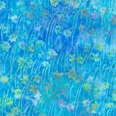 Artisan Batiks - Serenity Lake Waterfall Turquoise Yardage