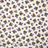 Arabella - Tiny Violets Natural Yardage
