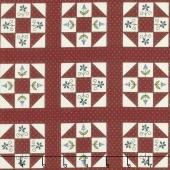 Home Sewn - Churn Dash Red Yardage