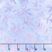 Artisan Batiks - Serendipity 3 Leaves Lavender Yardage