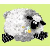 Lewe the Ewe - Sheep Play Mat Green Panel