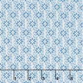 Perfect Union - Woven Slate Blue Yardage