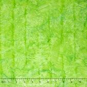 Spring Zing Batiks - Herringbone Shades of Lime Yardage