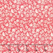 Merry Go Round - Mono Floral Pink Yardage