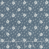 Walnut Creek - Oak Leaf Navy Yardage