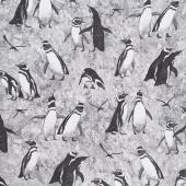 Magdalena - Penguin Dark Gray Yardage