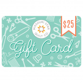 $25.00 Gift Card to Missouri Star Quilt Company
