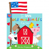 Huggable & Lovable Books - Macdonald's Farm Book Panel