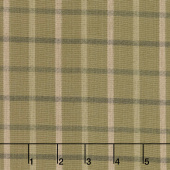 Tickled Pink - Brown Plaid Yarn Dye Yardage