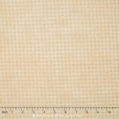 Arabella - Shaded Houndstooth Natural Yardage