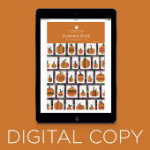 Digital Download - Pumpkin Spice Quilt Pattern by Missouri Star