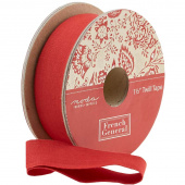 "Chafarcani Twill Trim - 1 1/2"" Red"