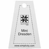 EZ Quilting Jelly Roll Ruler - Mini Dresden
