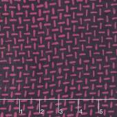 Bazaar Rayon Batiks - Tick Mark Plum Yardage