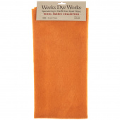 Weeks Dye Works Hand Over Dyed Wool Fat Quarter - Solid Sweet Potato