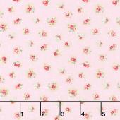 Amberley - Little Rose Polka Dot Peony Yardage