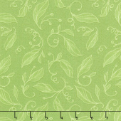 Sweet Pea & Lily - Swirly Leaves Sapling Yardage