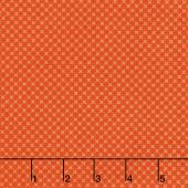 Kisses - Kisses Tone On Tone Color Orange Yardage