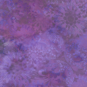 Diaphanous - Mystic Lace Amethyst Digitally Printed Yardage