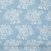 Anne of Green Gables - Anne Bouquet Blue Yardage